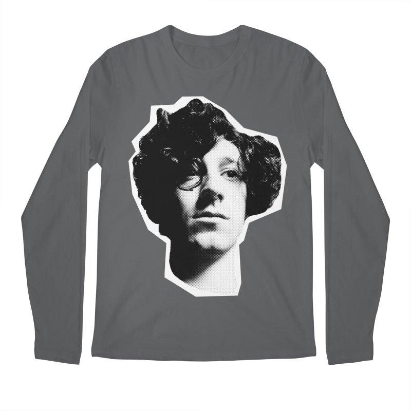 handsome Men's Longsleeve T-Shirt by miltondidi's Artist Shop