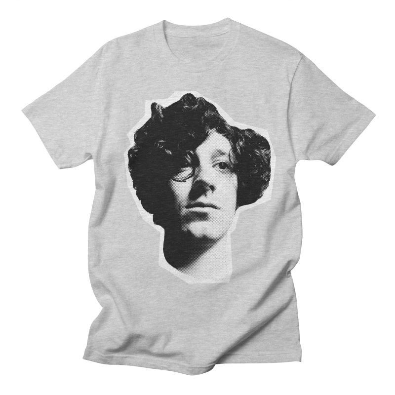 handsome Men's Regular T-Shirt by miltondidi's Artist Shop