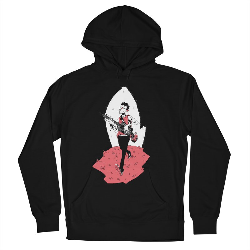 Caleb and His Vamp Slaying Uke Men's French Terry Pullover Hoody by miltondidi's Artist Shop