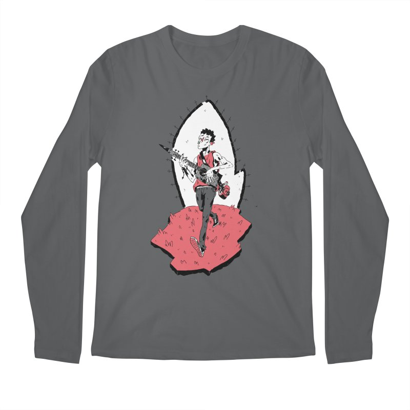 Caleb and His Vamp Slaying Uke Men's Longsleeve T-Shirt by miltondidi's Artist Shop