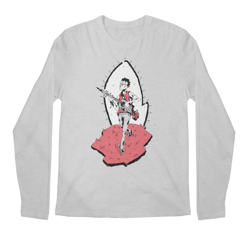 Caleb and His Vamp Slaying Uke Men's Regular Longsleeve T-Shirt by miltondidi's Artist Shop