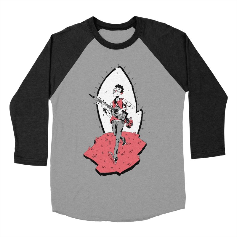 Caleb and His Vamp Slaying Uke Women's Baseball Triblend Longsleeve T-Shirt by miltondidi's Artist Shop