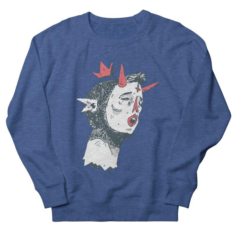 Prince Of Horns Men's Sweatshirt by miltondidi's Artist Shop