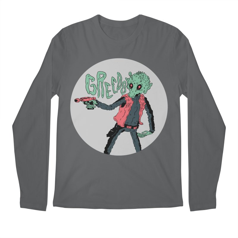 greedo is dope Men's Regular Longsleeve T-Shirt by miltondidi's Artist Shop