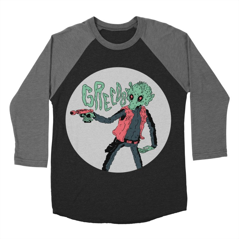 greedo is dope Women's Baseball Triblend Longsleeve T-Shirt by miltondidi's Artist Shop