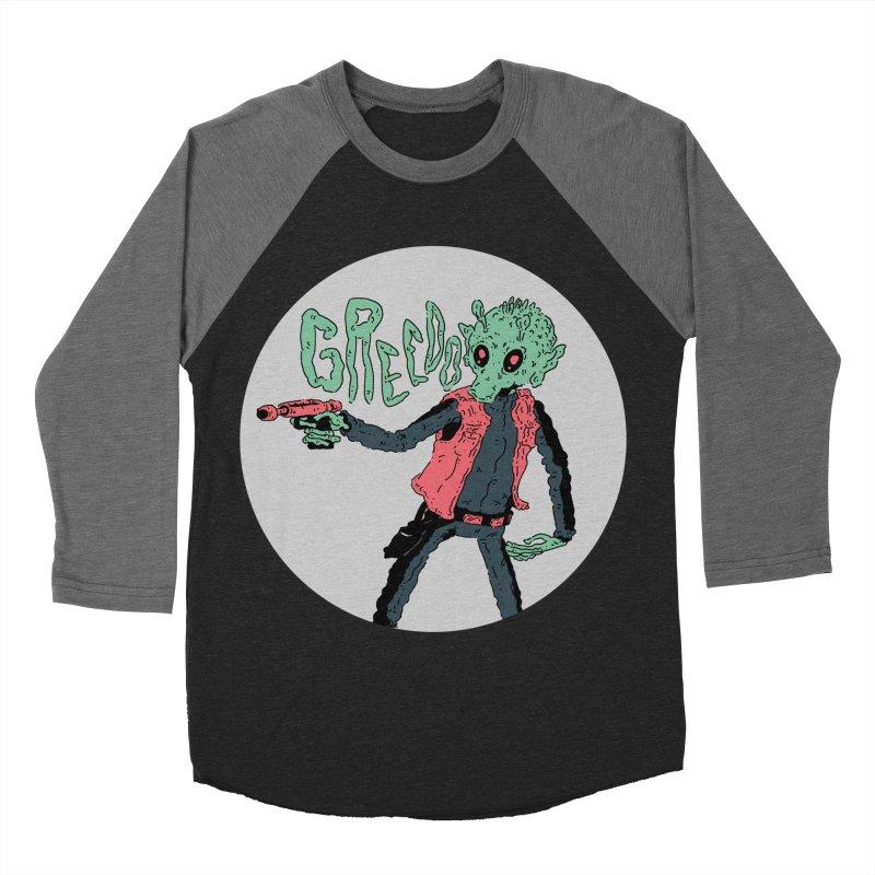 greedo is dope Men's Baseball Triblend Longsleeve T-Shirt by miltondidi's Artist Shop