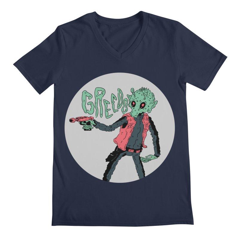 greedo is dope Men's Regular V-Neck by miltondidi's Artist Shop