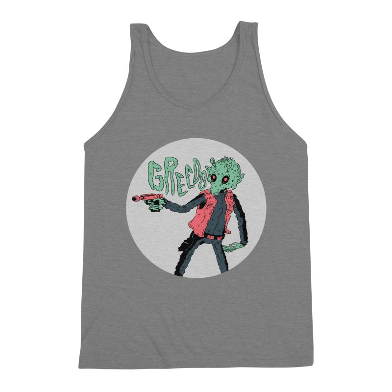 greedo is dope Men's Triblend Tank by miltondidi's Artist Shop