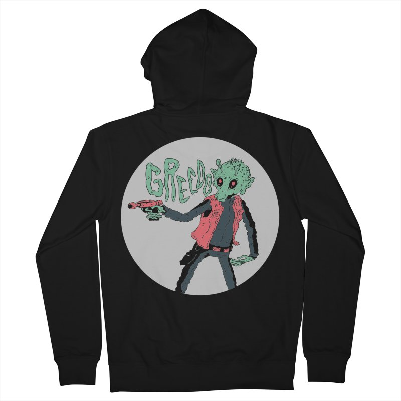 Greedo is Dope Men's French Terry Zip-Up Hoody by miltondidi's Artist Shop