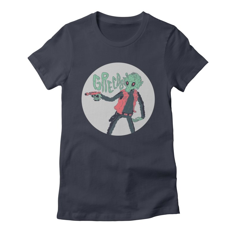 Greedo is Dope Women's Fitted T-Shirt by miltondidi's Artist Shop