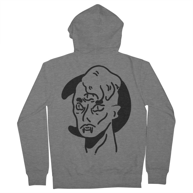 vampire nights  Men's French Terry Zip-Up Hoody by miltondidi's Artist Shop