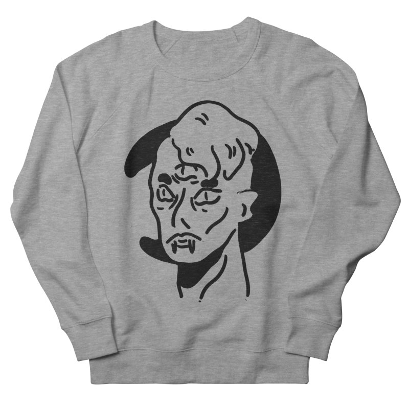 vampire nights  Women's French Terry Sweatshirt by miltondidi's Artist Shop