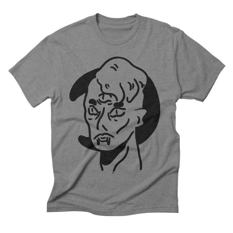 vampire nights  Men's Triblend T-Shirt by miltondidi's Artist Shop