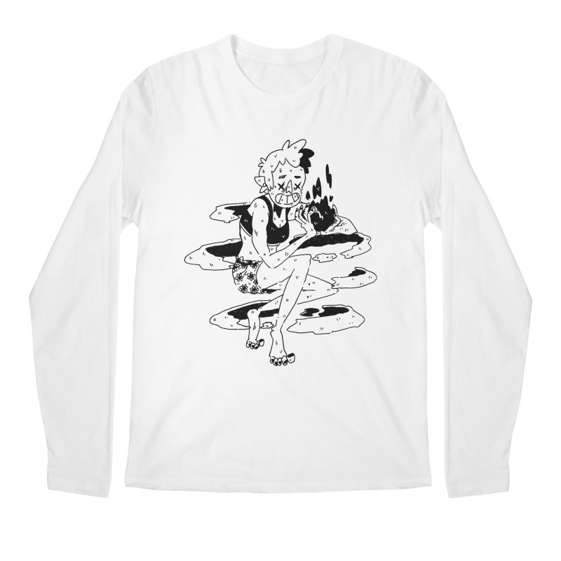 found magic in her undies Men's Regular Longsleeve T-Shirt by miltondidi's Artist Shop