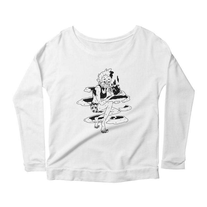 found magic in her undies Women's Scoop Neck Longsleeve T-Shirt by miltondidi's Artist Shop