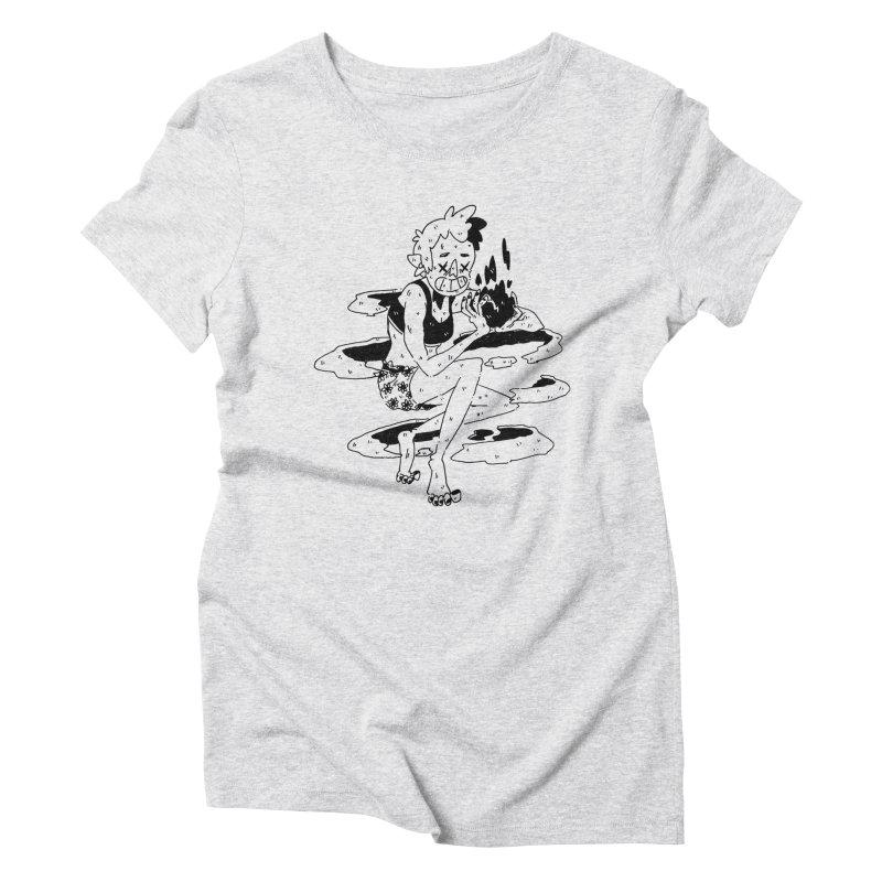 found magic in her undies Women's Triblend T-Shirt by miltondidi's Artist Shop
