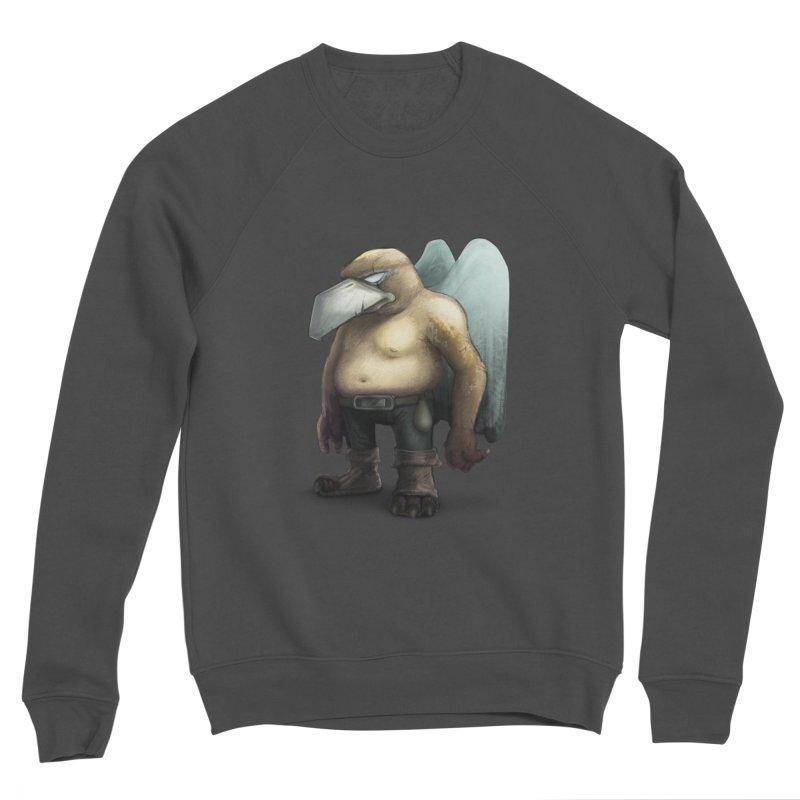 Birdman Angel 01 Men's Sponge Fleece Sweatshirt by miltos's Artist Shop