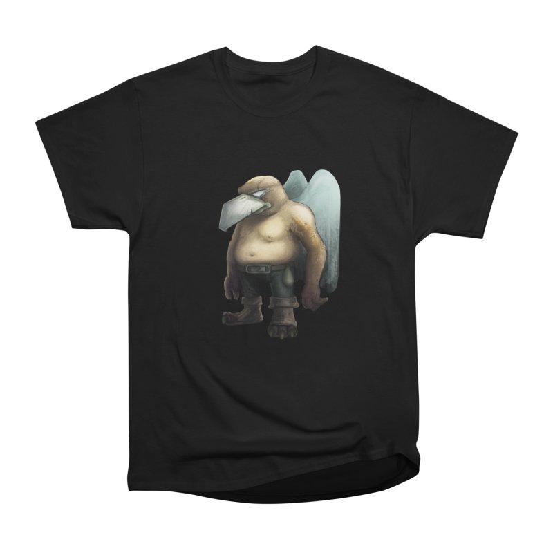 Birdman Angel 01 Men's Heavyweight T-Shirt by miltos's Artist Shop