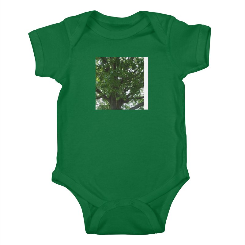 Tree Top Kids Baby Bodysuit by Mind-art Passion