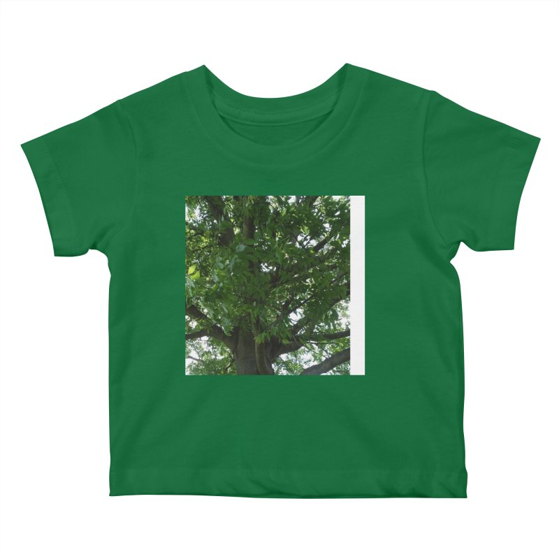 Tree Top Kids Baby T-Shirt by Mind-art Passion