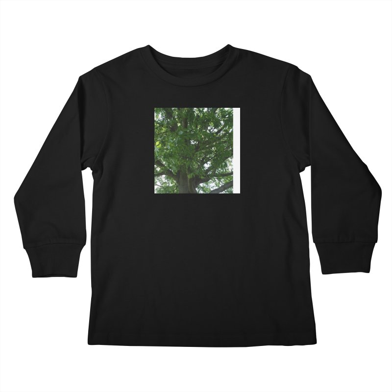 Tree Top Kids Longsleeve T-Shirt by Mind-art Passion