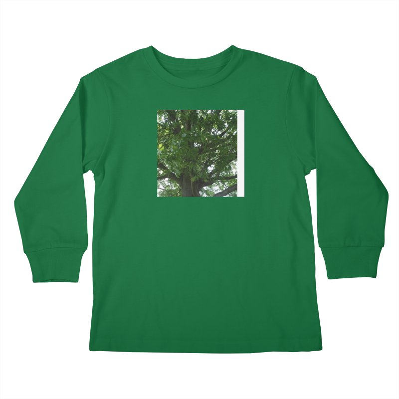 Tree Top Kids Longsleeve T-Shirt by Mind-art Passion