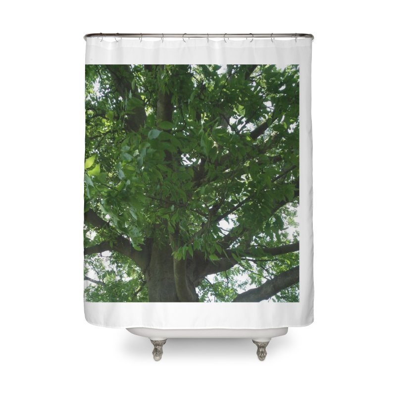 Tree Top Home Shower Curtain by Mind-art Passion