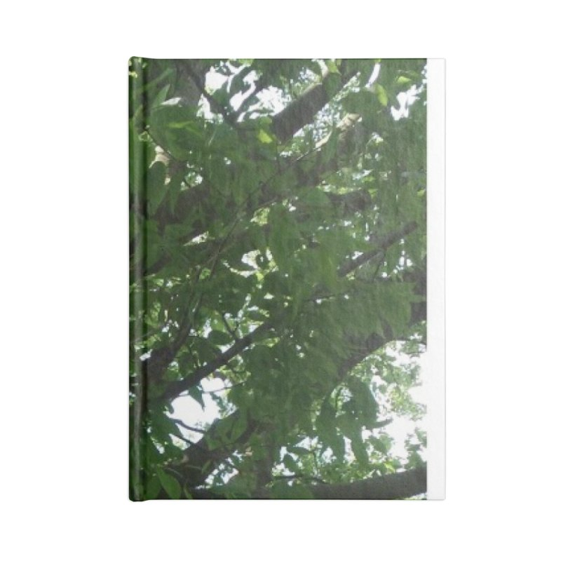 Tree Top Accessories Notebook by Mind-art Passion