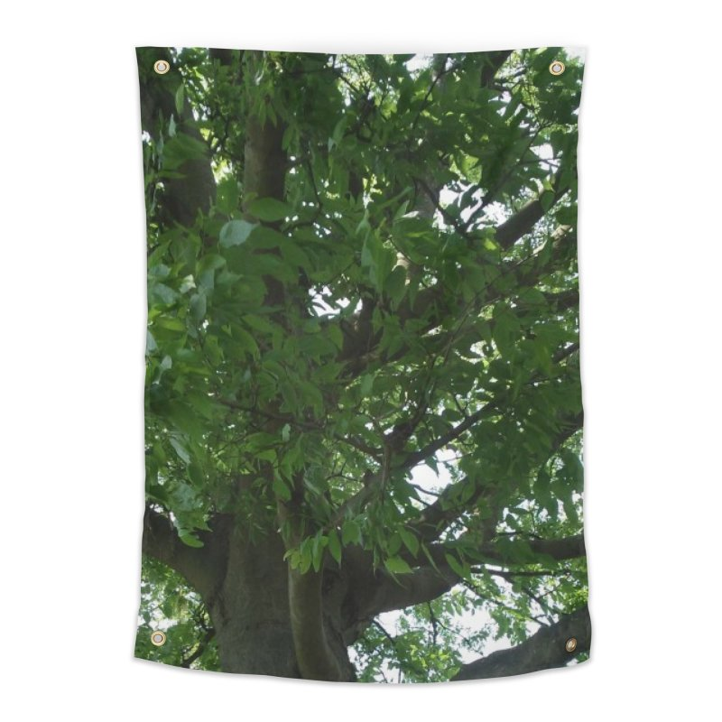 Tree Top Home Tapestry by Mind-art Passion