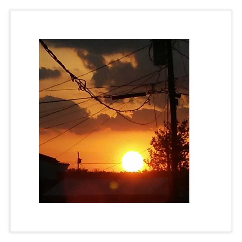 Sunset in the City Home Fine Art Print by Mind-art Passion