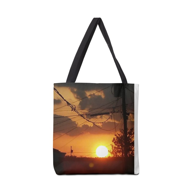 Sunset in the City Accessories Bag by Mind-art Passion