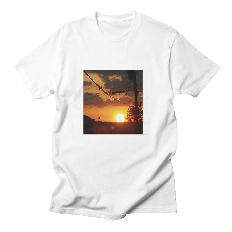 Sunset in the City Women's Regular Unisex T-Shirt by Mind-art Passion