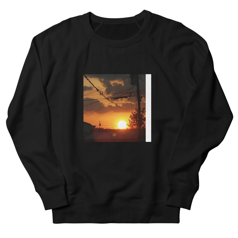 Sunset in the City Men's Sweatshirt by Mind-art Passion