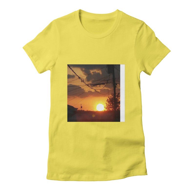 Sunset in the City Women's T-Shirt by Mind-art Passion