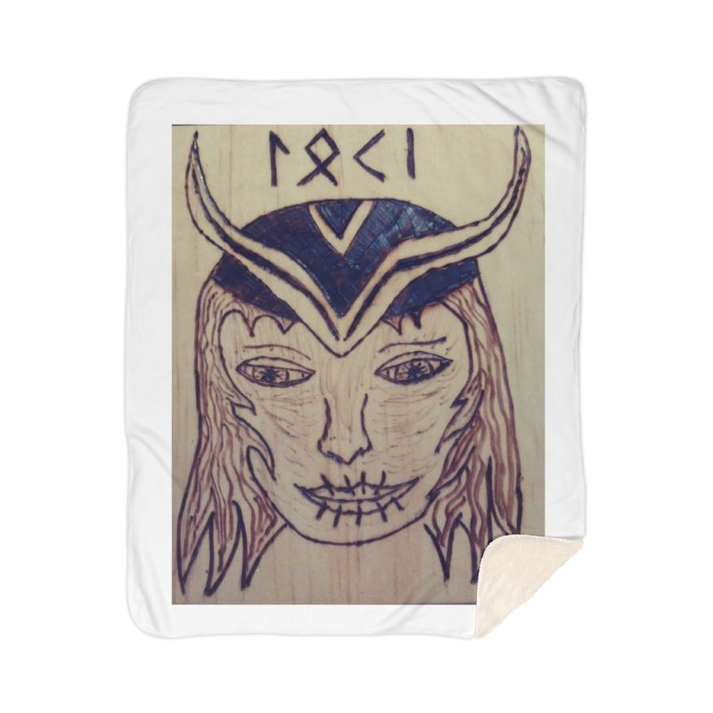 Norse God Loki Home Blanket by Mind-art Passion