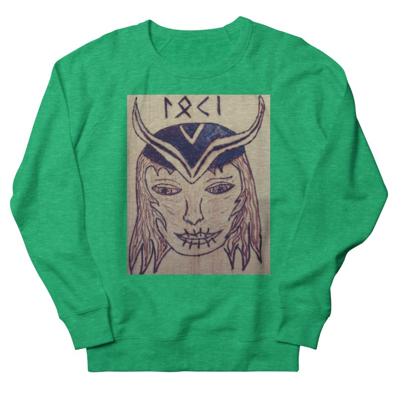 Norse God Loki Women's Sweatshirt by Mind-art Passion