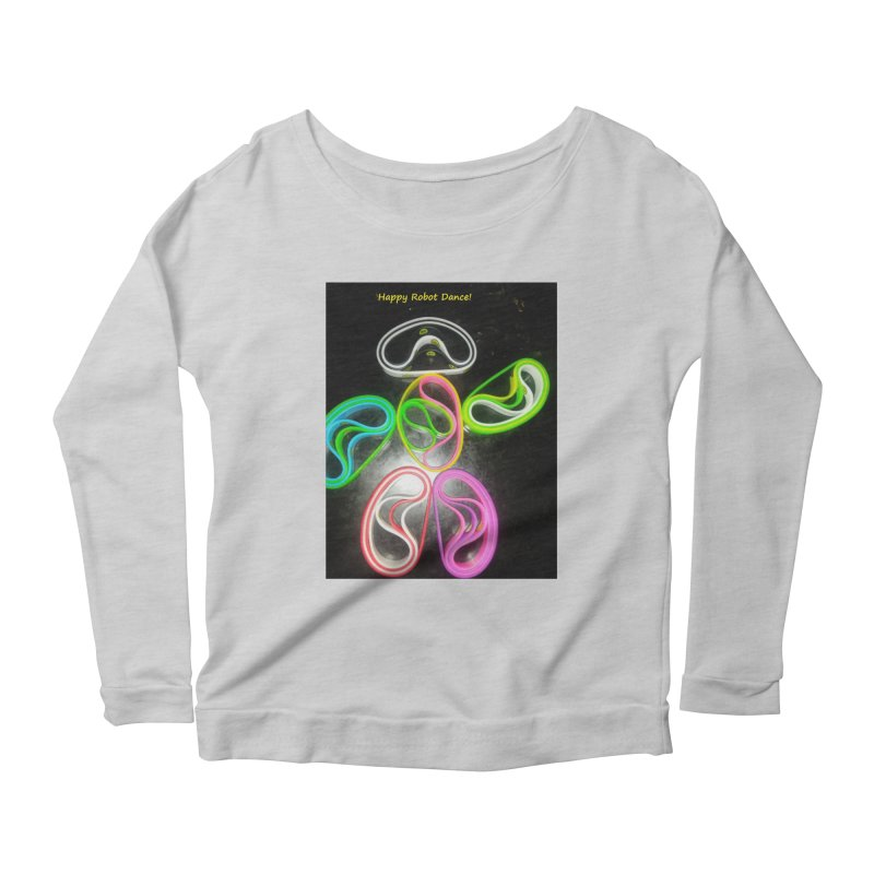 Happy Robot Dance Women's Longsleeve T-Shirt by Mind-art Passion