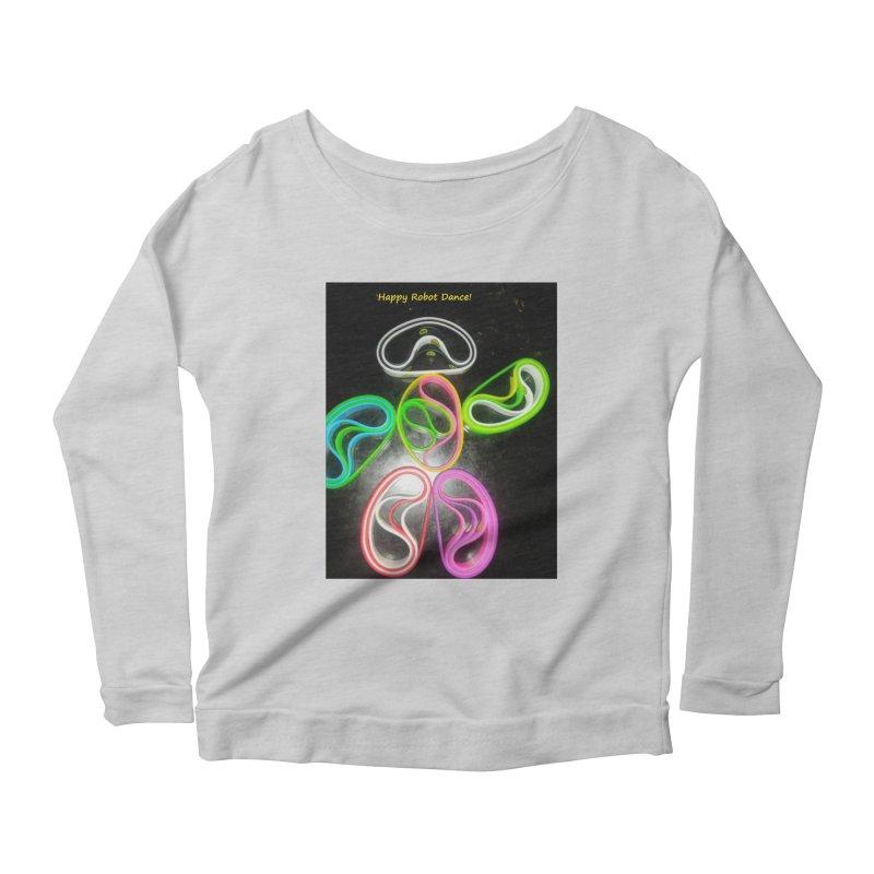 Happy Robot Dance Women's Longsleeve T-Shirt by Mind-art Passion