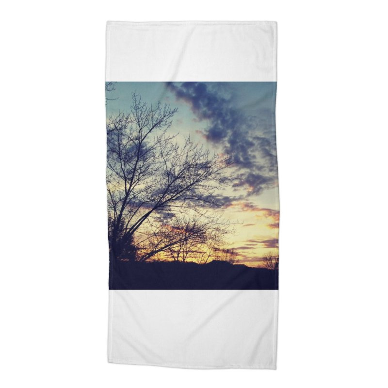 Evening Sky Accessories Beach Towel by Mind-art Passion