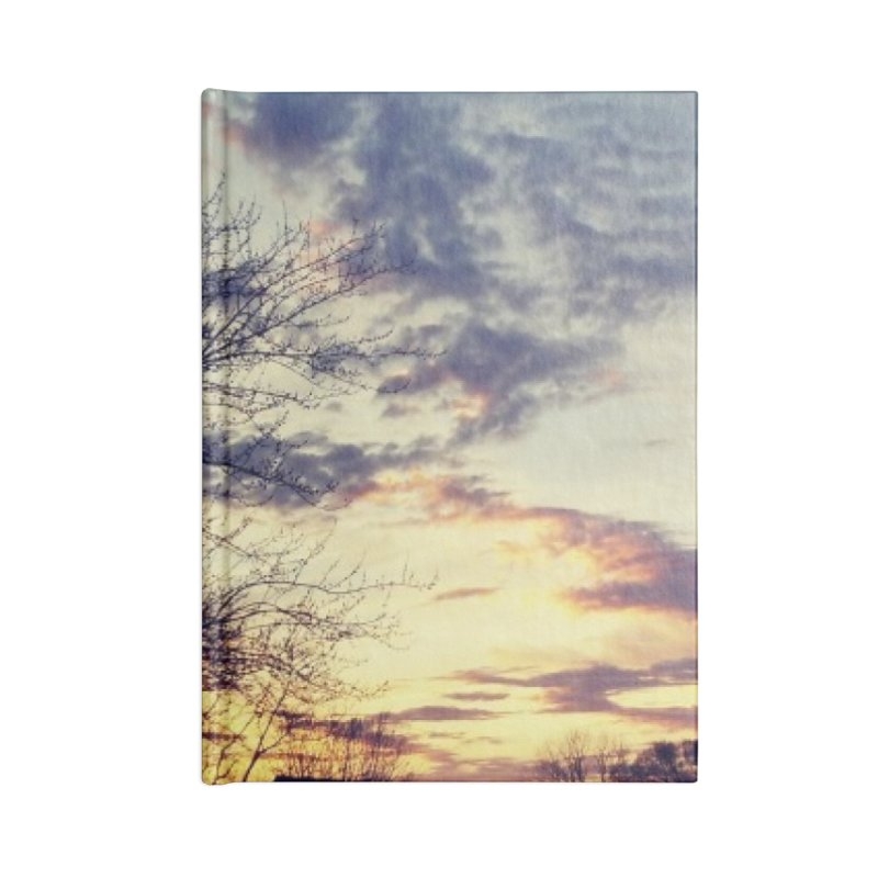 Evening Sky Accessories Notebook by Mind-art Passion