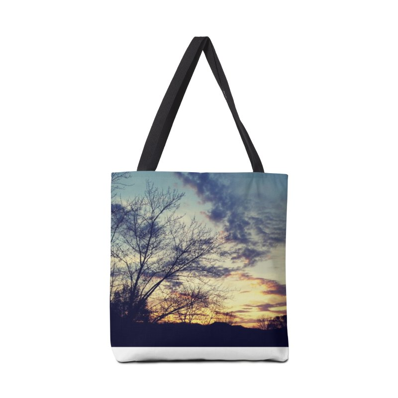 Evening Sky Accessories Bag by Mind-art Passion