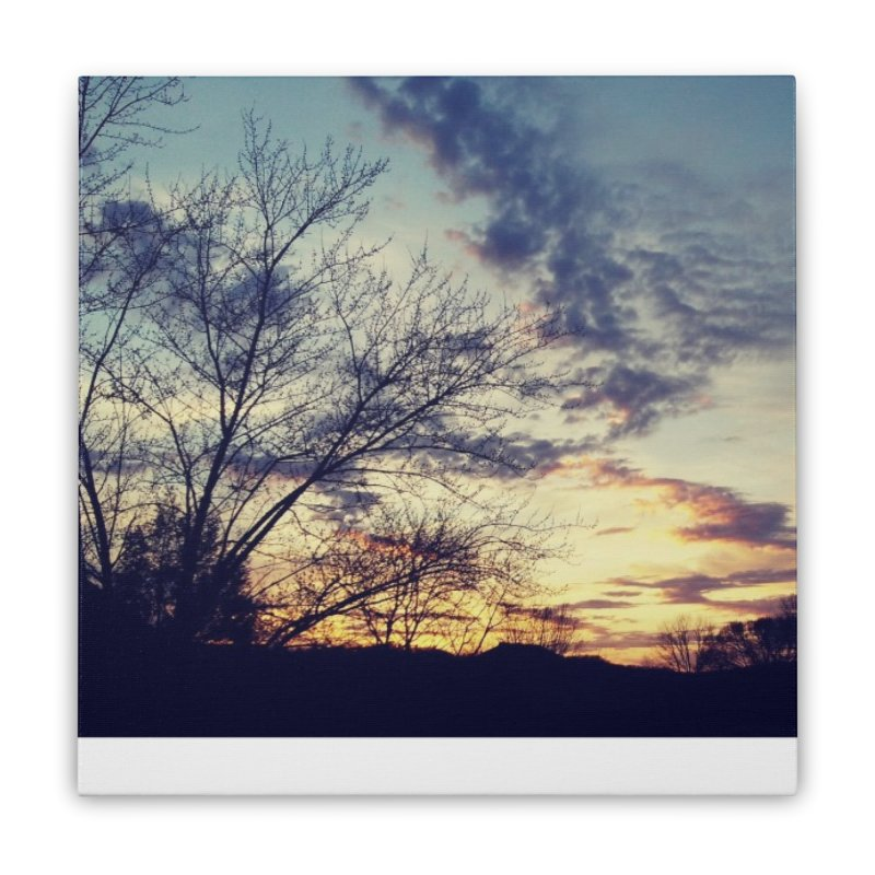 Evening Sky Home Stretched Canvas by Mind-art Passion