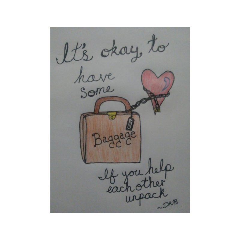Baggage by Mind-art Passion