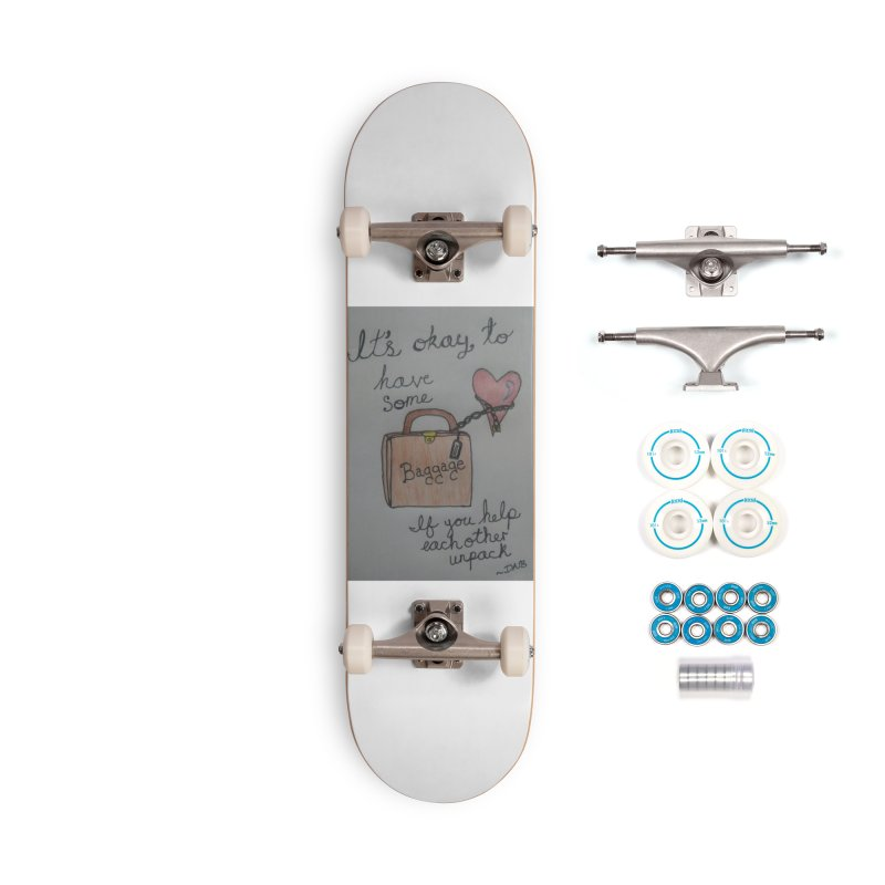 Baggage Accessories Complete - Basic Skateboard by Mind-art Passion
