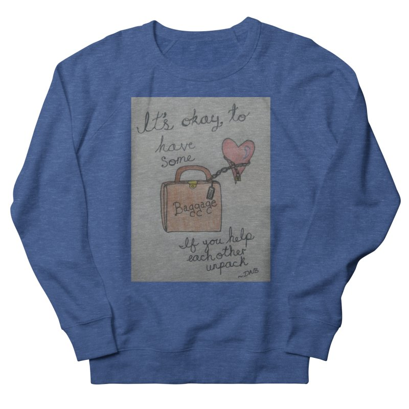 Baggage Men's Sweatshirt by Mind-art Passion