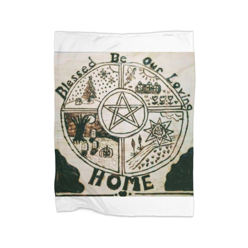 Blessed Home Home Blanket by Mind-art Passion