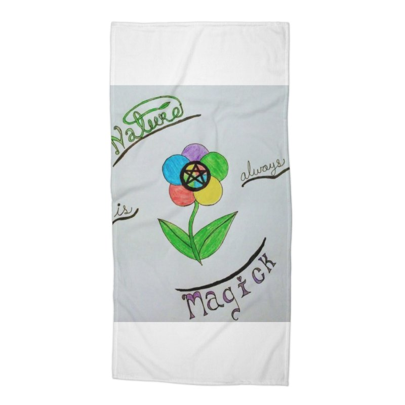 Nature Magick Accessories Beach Towel by Mind-art Passion