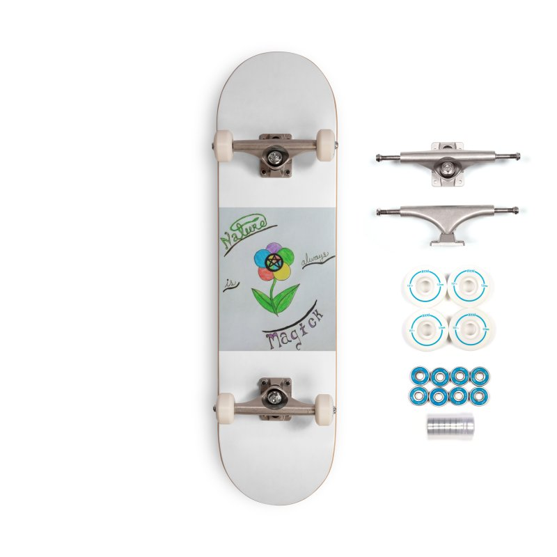 Nature Magick Accessories Complete - Basic Skateboard by Mind-art Passion