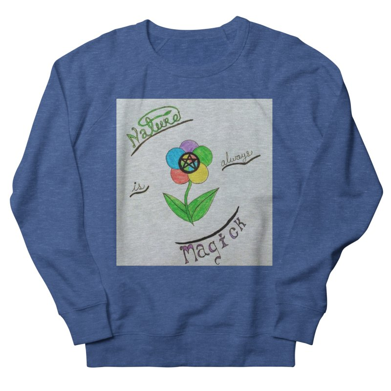 Nature Magick Women's French Terry Sweatshirt by Mind-art Passion