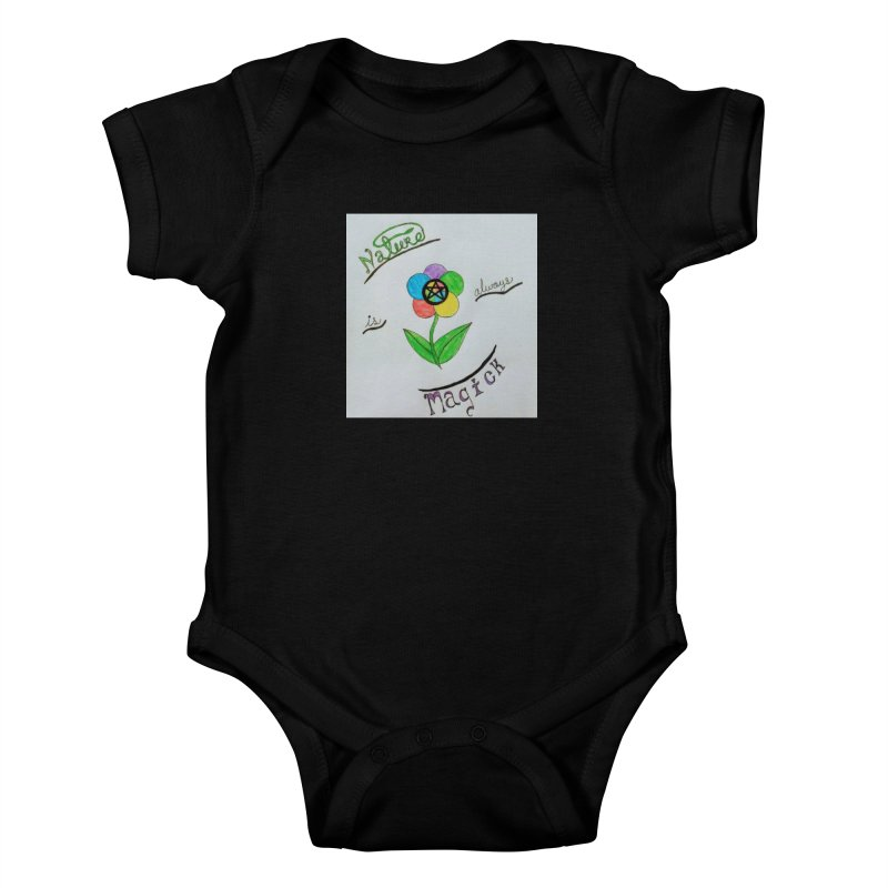 Nature Magick Kids Baby Bodysuit by Mind-art Passion